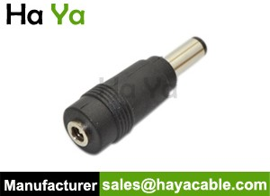 3.5mm to 5.5mm DC Power Connector Adapter