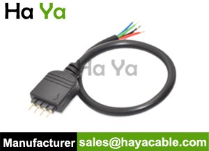 4-Pin Male Cable For RGB LED Strip