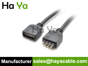 4-Pin Male to Female Extension Cable For RGB LED Strip