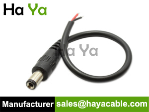 DC Male Pigtail for LED Strip Light