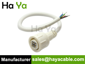 IP67 Waterproof 4 PIN Female Power Cable
