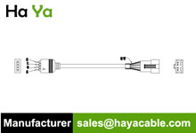 4 PIN Male to SM 4 PIN Female Cable