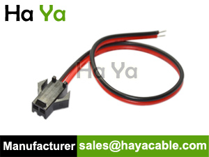 2-Pin JST SM Female Connector Cable with Cable