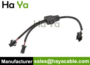 2-Pin JST SM 2 Way Splitter Cable