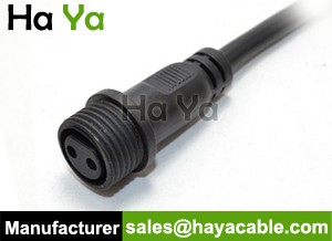 IP68 Waterproof 2 PIN Female Cable