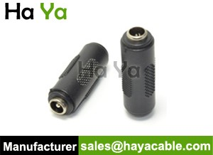 5.5mm DC Female to Female Connector Adapter