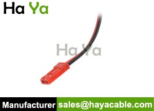 JST 2PIN Female Cable Pigtail-Red Housing