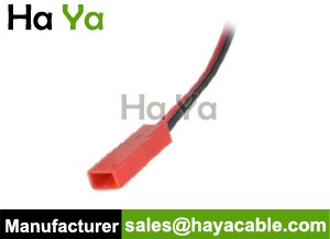 JST 2PIN Male Cable Pigtail-Red Housing