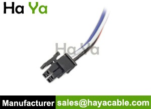 Molex Micro Fit 4 PIN Connector Male Cable Pigtail