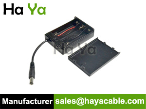 DPC-10 AA Battery Box with DC plug Cable
