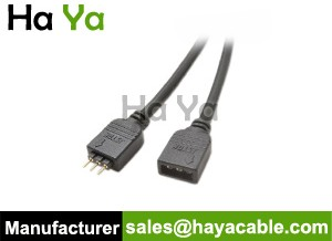 3-Pin 2.54 pitch overmolded LED Strip Cable