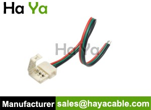3-Pin CCT Color Temperature LED Strip Solderless Connector Wire